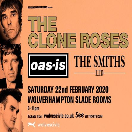 The Clone Roses, Oas-is and The Smiths LTD