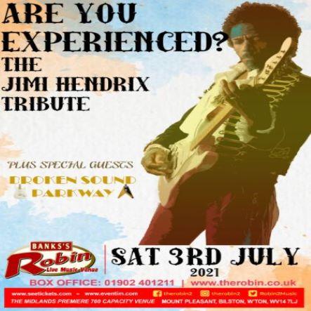 The Jimi Hendrix Experience!