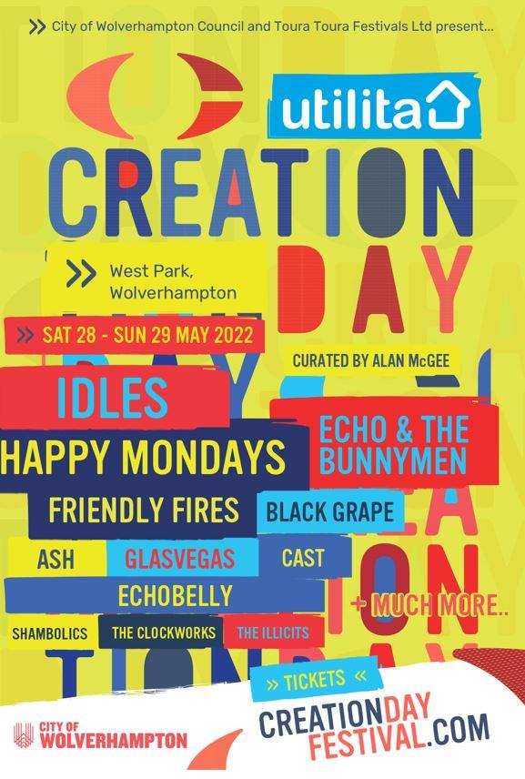 Utilita Creation Day Festival