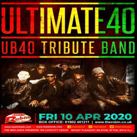 Ultimate 40 - The Tribute to UB40