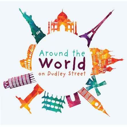 Around the World on Dudley Street