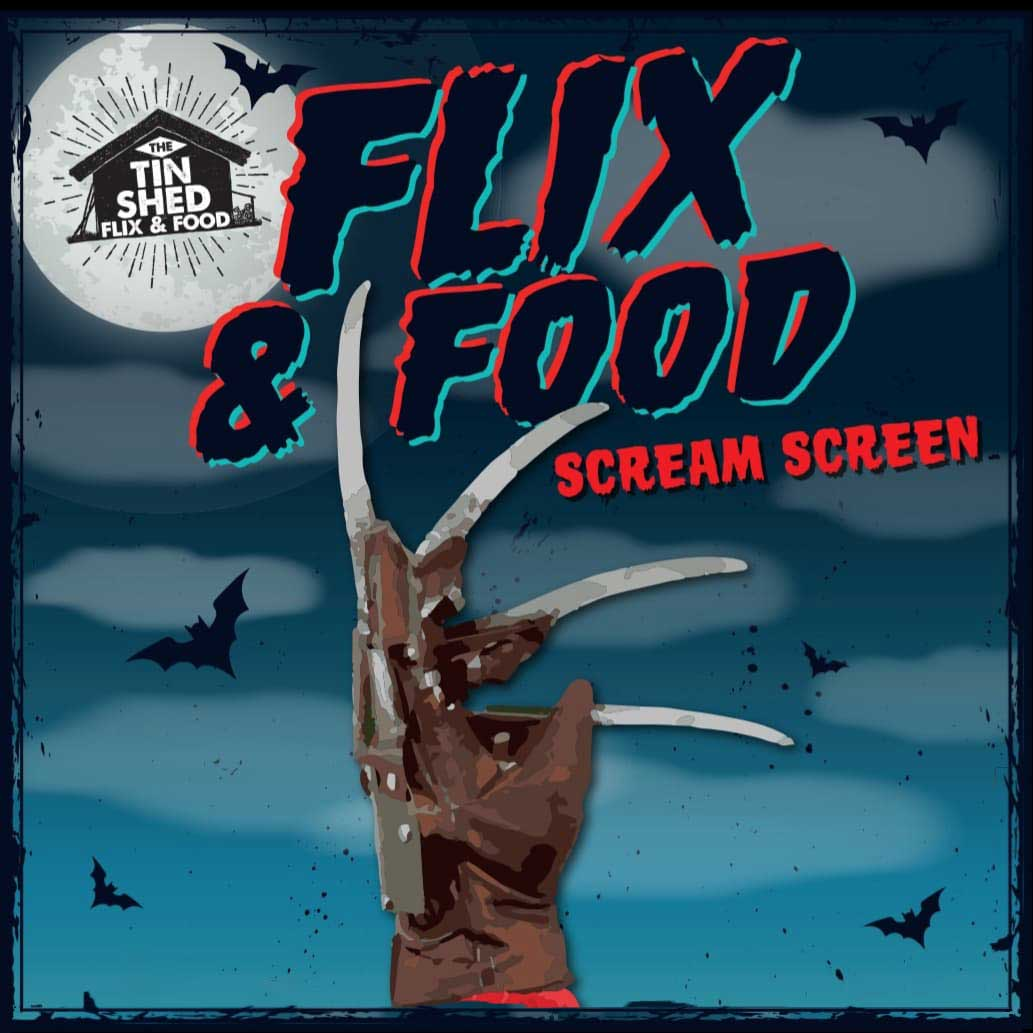 Flix & Food - Scream Screen   (Movie Night)
