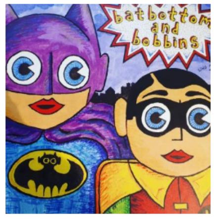 Comic Alter Ego Mask - Workshop