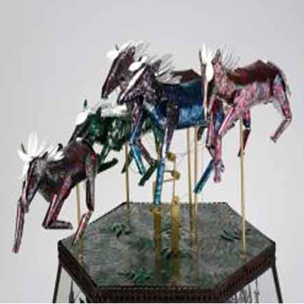 Melanie Tomlinson: Ghost Horses and Guns