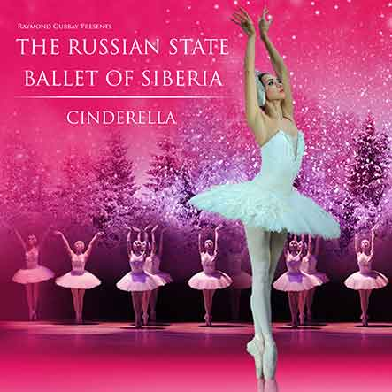 THE RUSSIAN STATE BALLET OF SIBERIA - CINDERELLA