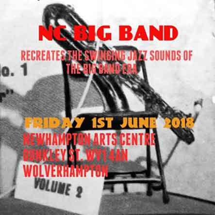 NC BIG BAND – Swinging Jazz sounds of the Big Band Era