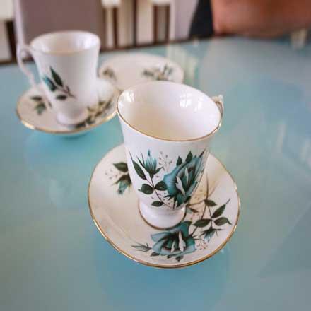 Afternoon Tea with Marion Cockin & Bert Flitcroft