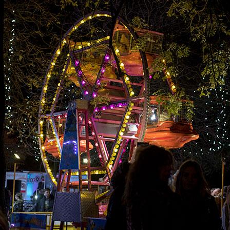 Tettenhall Christmas Lights Switch on