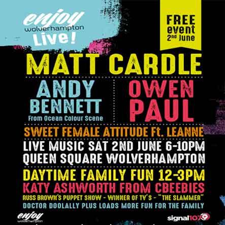Enjoy Wolverhampton Live